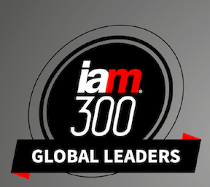 """IAM Strategy 300 Global Leaders 2021."" IAM Media (January 2021)"